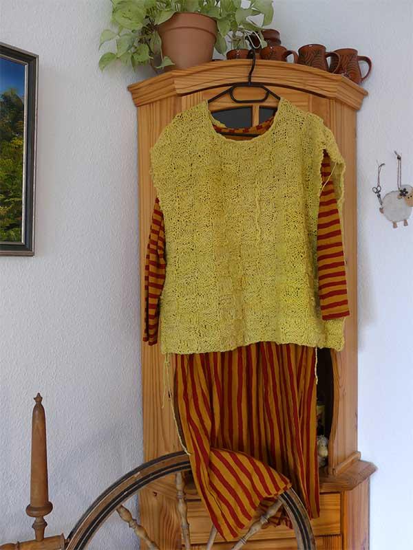 der Überwuf zum Kleid
