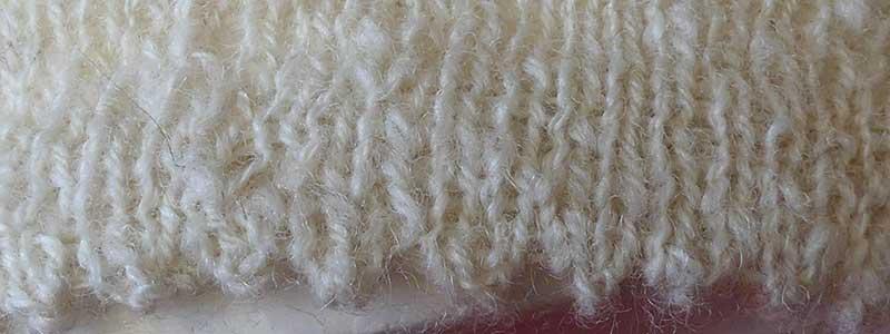 Mäusezähnchen stricken – ein etwas anderes Bündchen