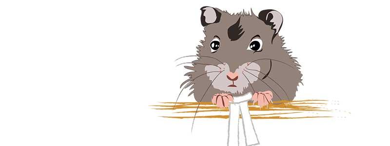 Mein alter, verschwundener Blog und die Mäuse, gemalt und gefilzt.