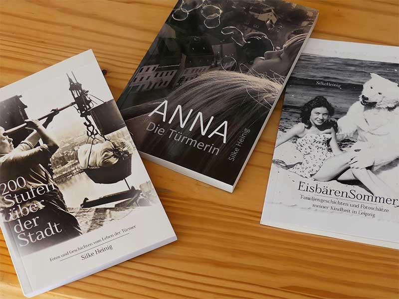 Die Bücher von Silke Heinig vom Literaturtreff Leipzig-Grünau