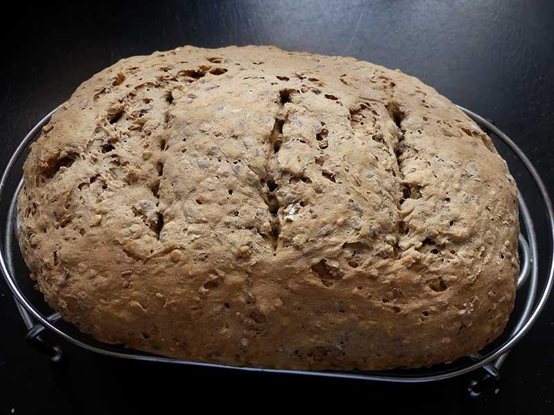 gestern wurde ich zum Brotbäcker