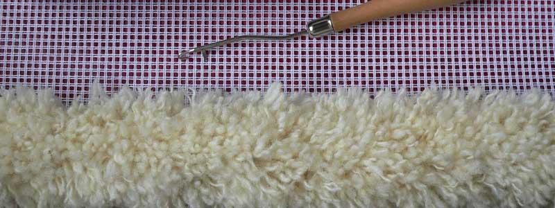 Teppich knüpfen