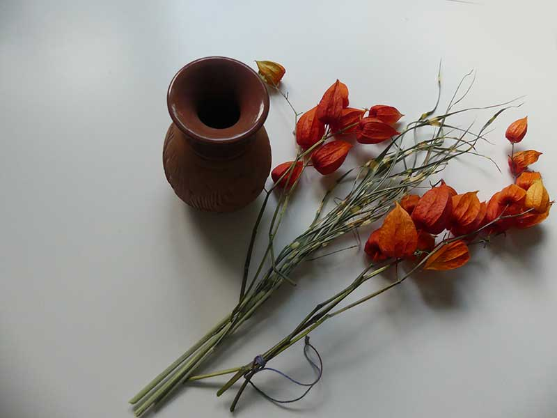 orange Farbe für gute Laune im Herbst