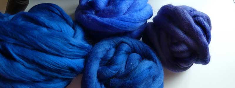 Blaue Wolle und warum die Nerven manchmal blank liegen.
