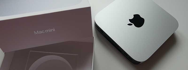 Der Mac Mini ist da und ich muss wieder ein bisschen lernen.