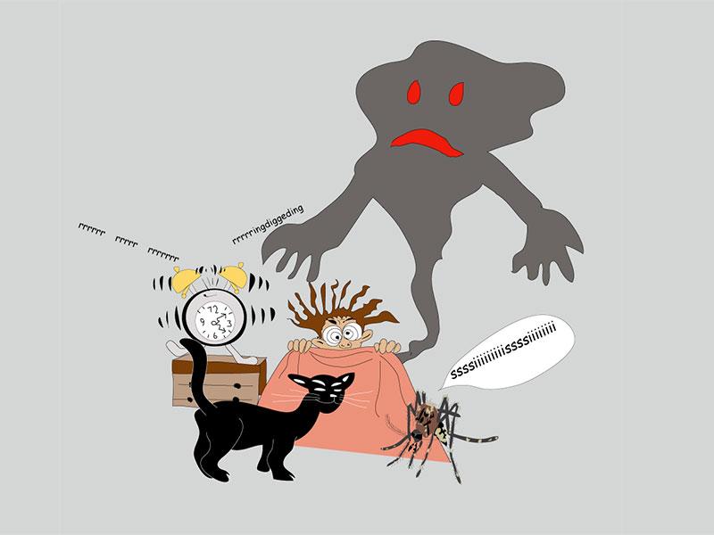 Alptraum - meine Zeichnung