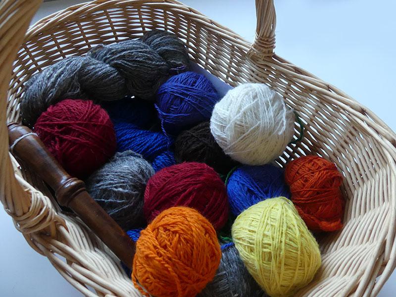Wolle für die nächsten Wollsocken