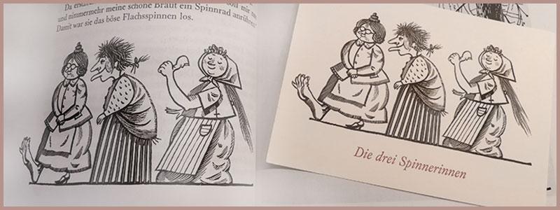 Märchenhaftes. Ein lieber Brief aus der Stadtbezirksbibliothek  Grünau-Mitte.