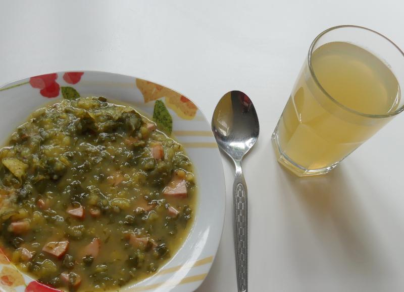 Giersch-Kartoffel-Suppe