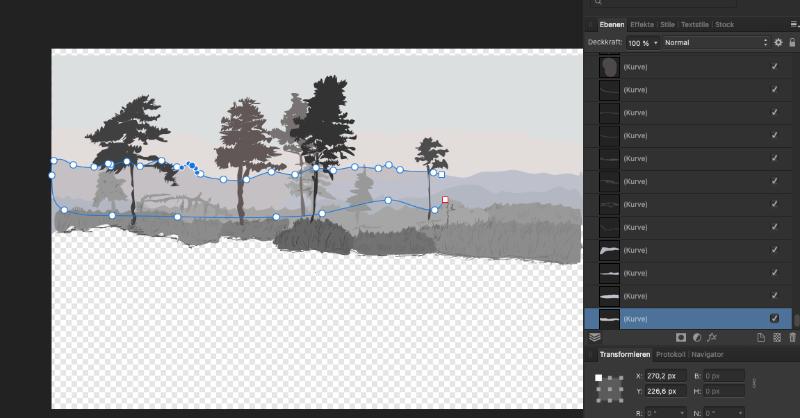 switchen zwischen Vektoren und Pixeln