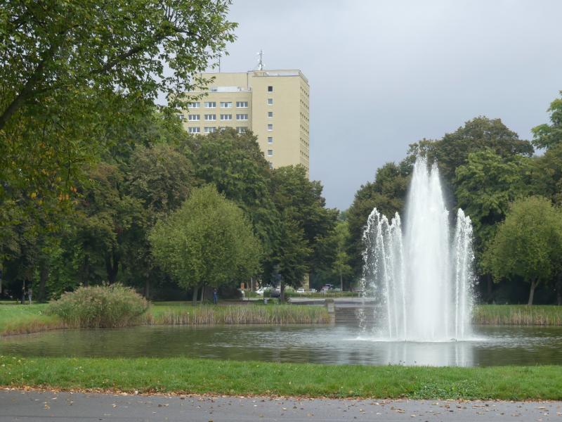 herbstlicher Spaziergang im Clara-Zetkin-Park